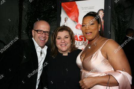 Donald DeLine, Gail Berman & Queen Latifah