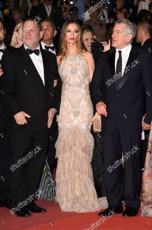 Harvey Weinstein, Georgina Chapman and Robert De Niro