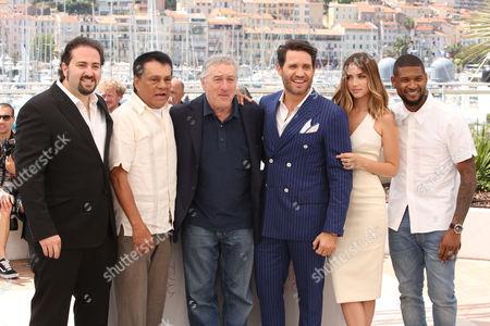 Jonathan Jakubowicz, Roberto Duran, Robert De Niro, Edgar Ramirez