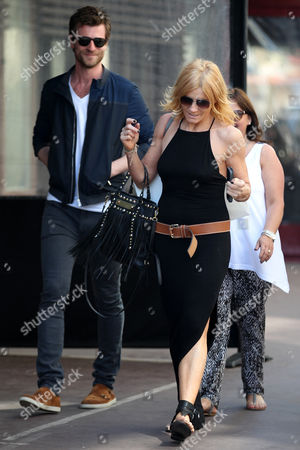 Stock Image of Mike Davison and Michelle Collins