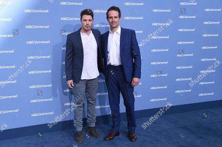 Josh Henderson and Michael Vartan