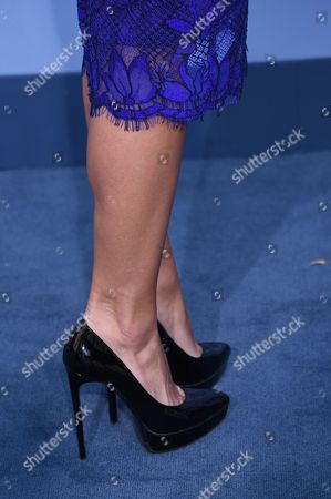 Ximena Duque, shoe detail
