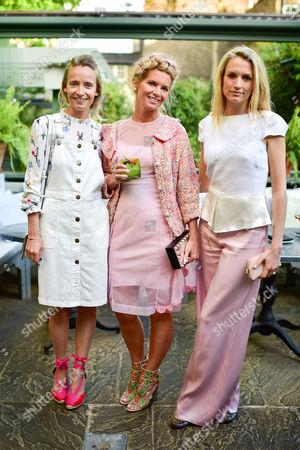 Martha Ward, Alexandra Tolstoy and Sofia Wellesley