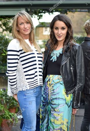 Stock Image of Emily Crompton and Rosanna Falconer