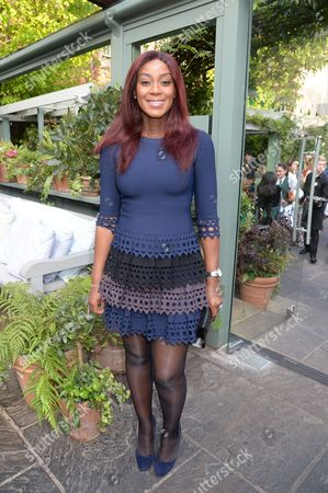 Editorial image of 'A Year in the Garden' party at The Ivy Chelsea Garden, London, Britain - 16 May 2016