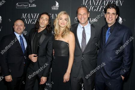 Tom Guida (Producer), Adrien Brody, Yvonne Strahovski, Steve Klinsky, Brian DeCubellis (Director)