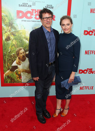 Editorial image of 'The Do-Over' film premiere, Los Angeles, America - 16 May 2016