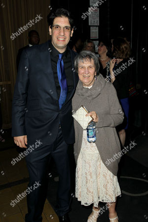 Stock Image of Brian DeCubellis (Director) with his mother