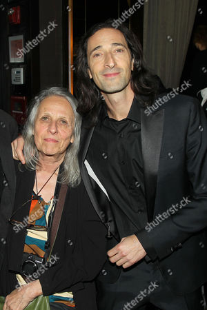 Adrien Brody with his mother Sylvia Plachy