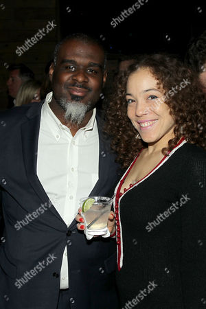 Stock Picture of Kendra Foster (R) with guest