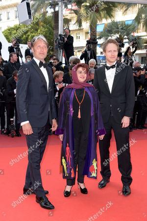 Mads Mikkelsen, Katayoon Shahabi and Laszlo Nemes