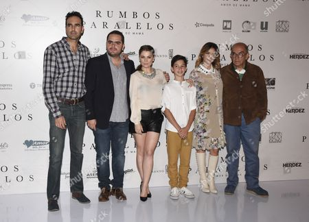 Editorial image of 'Rumbos Paralelos' film press conference, Mexico City, Mexico - 16 May 2016