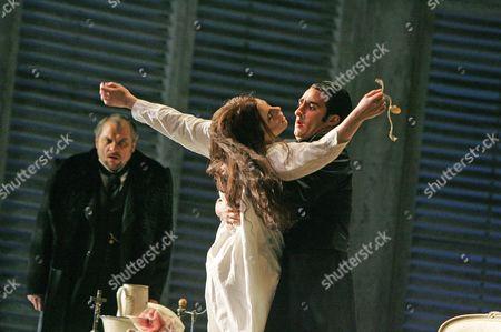 'La Traviata' - Zeljko Lucic, Ana Maria Martinez and Charles Castronovo