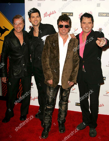 Inxs - Garry Beers, J D Fortune, Tim Farriss and Jon Farriss