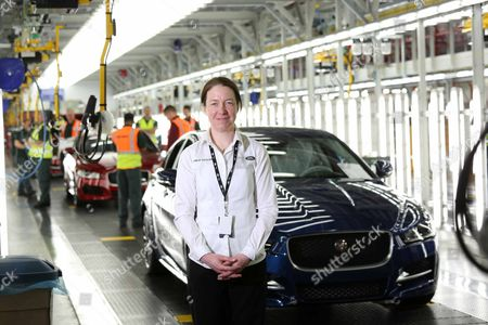 An Ex-armed Forces Team Building Jaguar's New Xe Car With Military Precision. Julie Taylor 36 Spent Over Eight Years In The Royal Logistic Corps (army) And Then Joined Jaguar Land Rover In February This Year.