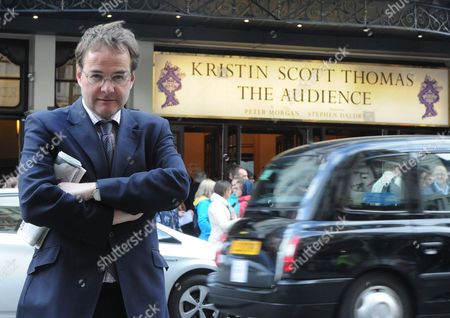 Quentin Letts Watches Kristin Scott Thomas As The Queen In The Audience. London  UK  05/05/2015.