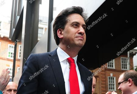 Ed Milliband And His Wife Justine Milliband Arrive At Labour Hq In Westminster After A Defeat In The General Election. London  UK  08/05/2015 2015.