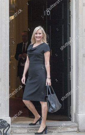 The Prime Minister Holds His First Cabinet Meeting In Downing Street Since His Election Last Week Including Junior Minister Caroline Dinenage Minister For Equalities. 12.5.15.