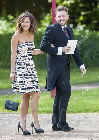 Marriage Of Spice Girl Gerri Halliwell To Redbull Formula One Boss Christian Horner At St Mary's Church In Woburn In Bedfordshire.guests Included Mylene Klass. 15.5.15.