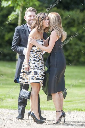 Marriage Of Spice Girl Gerri Halliwell To Redbull Formula One Boss Christian Horner At St Mary's Church In Woburn In Bedfordshire.guests Included Amanda Holden And Myleene Klass. 15.5.15.