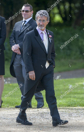 Marriage Of Spice Girl Gerri Halliwell To Redbull Formula One Boss Christian Horner At St Mary's Church In Woburn In Bedfordshire.guests Included Eddie Jordan. 15.5.15.