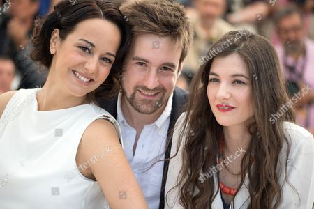 Pauline Caupenne, Gregoire Leprince-Ringuet and Amandine Truffy
