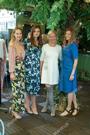 Lavinia Brennan, Natasha Rufus Isaacs, Heidi Gosman and Penny Klein