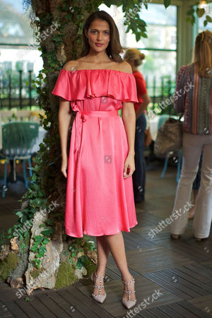 Editorial image of Beulah and Heidi Klein Summer collections breakfast, Ivy Garden, Kensington, London, Britain - 17 May 2016