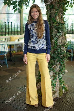 Editorial picture of Beulah and Heidi Klein Summer collections breakfast, Ivy Garden, Kensington, London, Britain - 17 May 2016