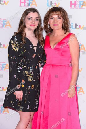 Lorraine Kelly and daughter Rosie Smith