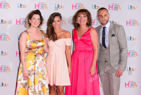Editorial image of Lorraine's High Street Fashion Awards, London, Britain - 17 May 2016