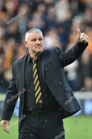 Dean Windass before the Sky Bet Championship play off 2nd leg match between Hull City and Derby County at the KC Stadium, Kingston upon Hull