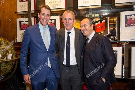 Ben Elliot, Hugo Rittson-Thomas and Prosper Assouline