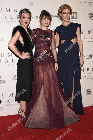 Stock Image of Iliana Fox, Ludwika Paleta, Fernanda Castillo