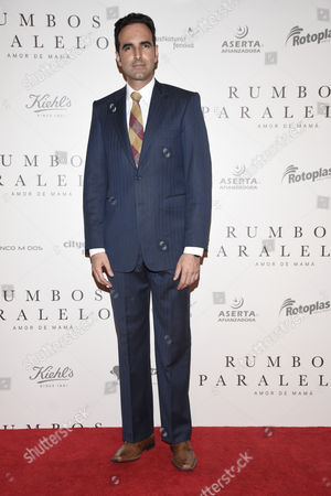Editorial picture of 'Rumbos Paralelos' film premiere, Mexico City, Mexico - 17 May 2016