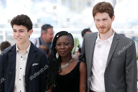 Stock Photo of Louka Minnella, Nadege Ouedraogo and Olivier Bonnaud