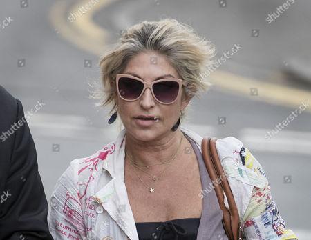 Matilde Conejero arrives at Uxbridge Magistrates Court.