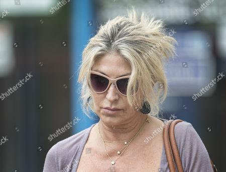 Stock Picture of Matilde Conejero leaves Uxbridge Magistrates Court