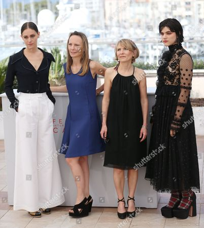 Ariane Labed, Delphine Coulin, Muriel Coulin and Soko