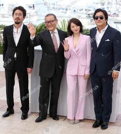 Na Hong-Jin, Jun Kunimura, Chun Woo Hee and Hawk Do Won