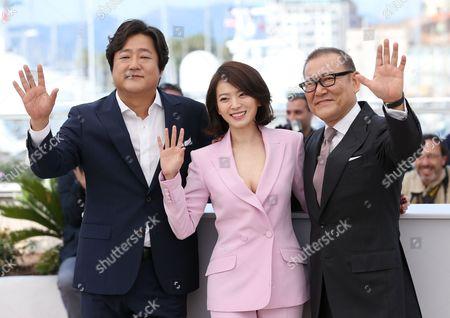 Kwak Do Won, Chun Woo Hee and Jun Kunimura