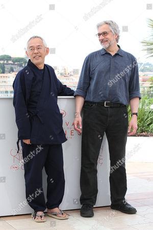 Michael Dudok De Wit and Toshio Suzuki