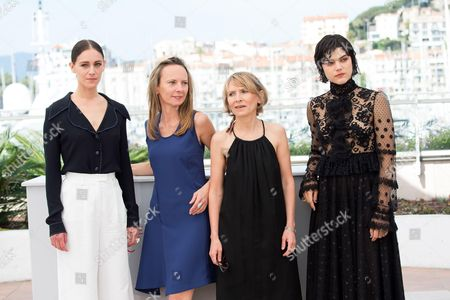 Ariane Labed, Delphine and Muriel Coulin and Soko