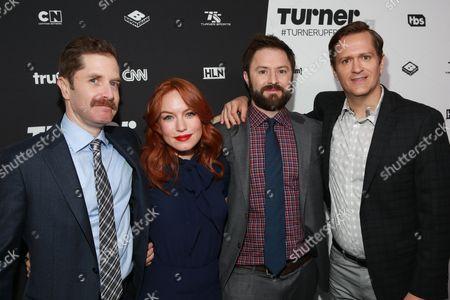 Stock Image of Andrew Orvedahl, Maria Thayer, Adam Cayton-Holland, Ben Roy