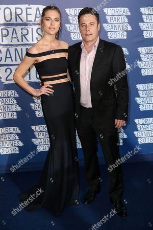 Lana Zakocela and Justin Etzin