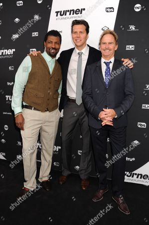 Deon Cole, Hayes MacArthur and Jere Burns