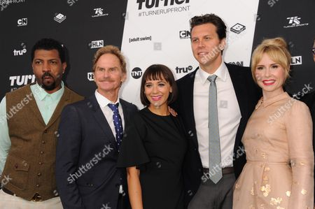 Deon Cole, Jere Burns, Rashida Jones, Hayes MacArthur and Andree Vermeulen