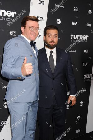 Stock Image of Rhys Darby and Brian Sacca
