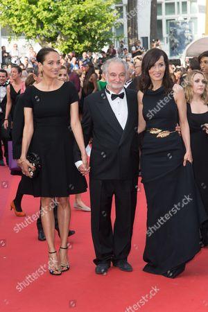 Jacques Attali, Dolores and Carmen Chaplin
