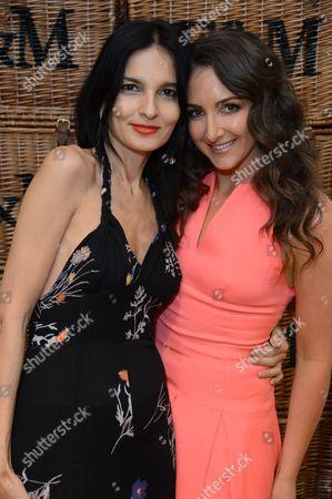 Natasha Corrett and Yasmin Mills
